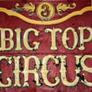 Big Top Circus Art Print