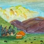 Big Valley Art Print