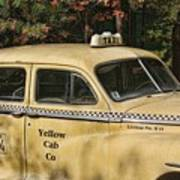 Big Yellow Taxi Art Print