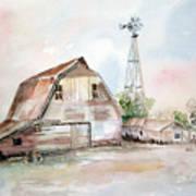 Bigelow's Barn Art Print
