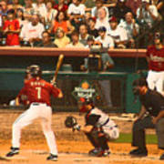 Biggio At Bat Houston Astros Art Print