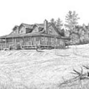 Bigness House Art Print