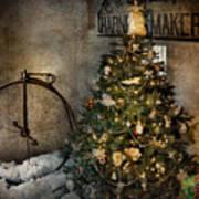 Bike - I Wanna Bike For Christmas  Art Print