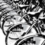 Bike Fleet Art Print