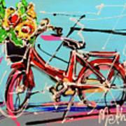 bike of Amsterdam series 2018 no.2 Art Print