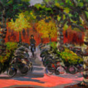 Bike Park Art Print