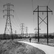 Bike Power On Platte Trail Art Print