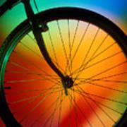 Bike Silhouette Art Print by Garry Gay