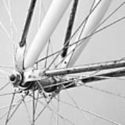 Bike Spokes Art Print