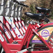 Bikes For Rent Art Print