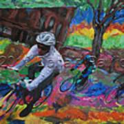 Biking In Mn  Art Print
