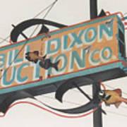 Bill Dixon Auction Art Print