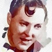 Bill Haley, Music Legend Art Print