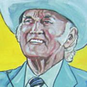 Bill Monroe Art Print