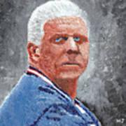 Bill Parcells Art Print