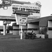 Billboard The Last Territory Tucson Arizona 1987 Art Print