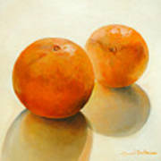 Billes Oranges Art Print