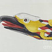 Billet Head: Eagle Art Print