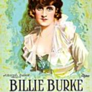 Billie Burke In The Misleading Widow 1919 Art Print