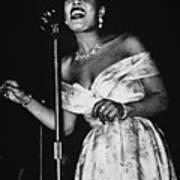 Billie Holiday Art Print by American School