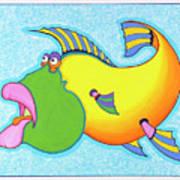 Billy Bass Art Print