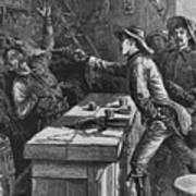 Billy The Kid 1859-81, Shooting Art Print