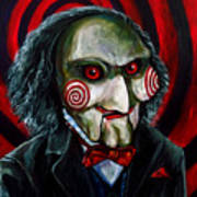 Billy The Puppet Art Print