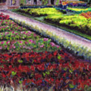 Biltmore Walled Gardens Art Print