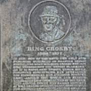 Bing Crosby Pebble Beach I Art Print