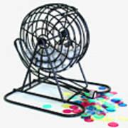 Bingo Cage Art Print