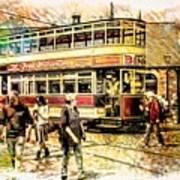 Binns Tram 1 Art Print