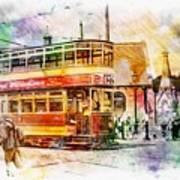 Binns Tram 2 Art Print