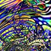 Biodiverse Interconnect Art Print