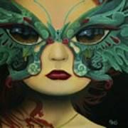 Biomorphic Bifocals Art Print