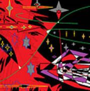 Bipolar Stars Art Print
