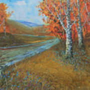 Birch Fall Art Print