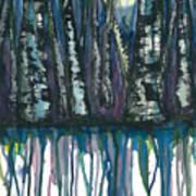 Birch Trees #4 Art Print