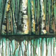 Birch Trees #5 Art Print