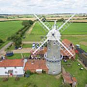 Bircham Windmill Art Print
