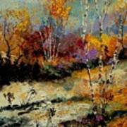 Birchtrees 459090 Art Print