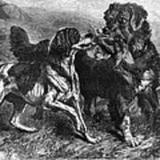Bird Dogs, 1868 Art Print