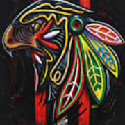 Bird Head Art Print
