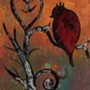 Bird I Wr Art Print