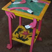 Barefootin' Table  Art Print