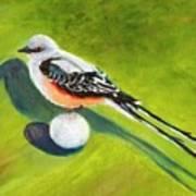 Birdie Time Art Print