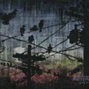 Birds 2 Print by Arleana Holtzmann