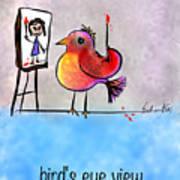 Birds Eye View Art Print
