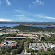 Birds Eye View Orlando Florida Art Print