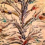 Birds In A Tree Art Print