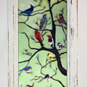 Birds In The Tree Framed Art Print
